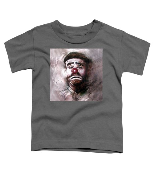 Emmit Kelly Clown Toddler T-Shirt