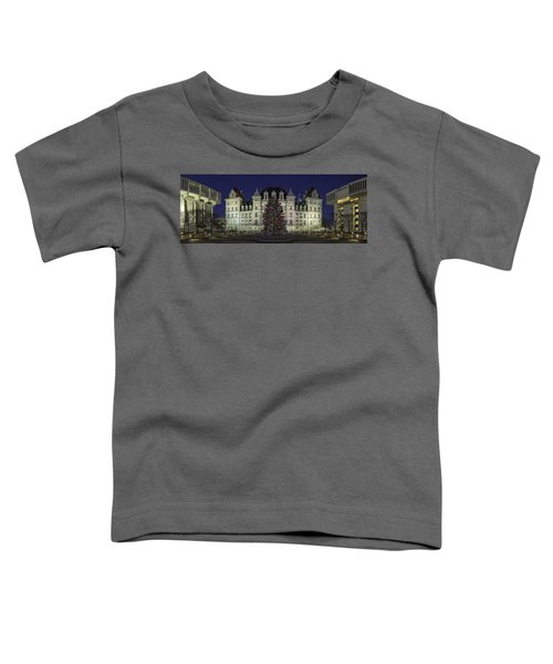 Empire State Plaza Holiday Toddler T-Shirt