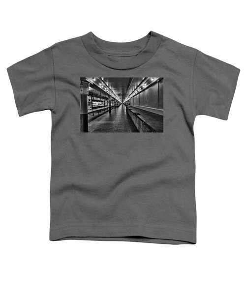 Empty Pike Place Market In Seattle Toddler T-Shirt