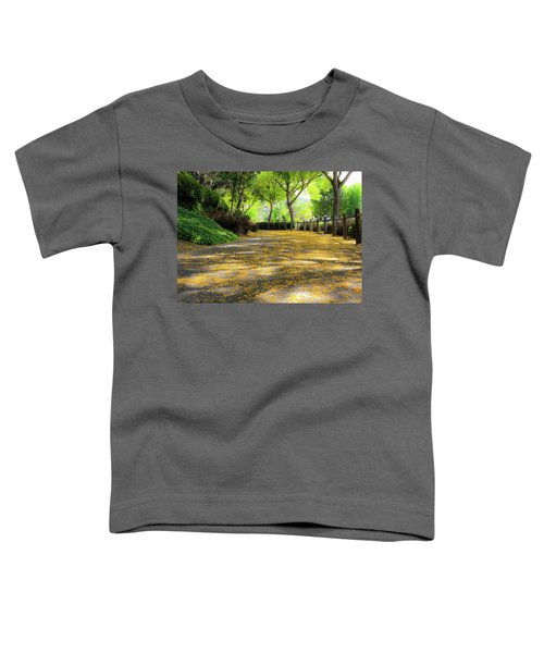 Toddler T-Shirt featuring the photograph Enchanted Path by Alison Frank
