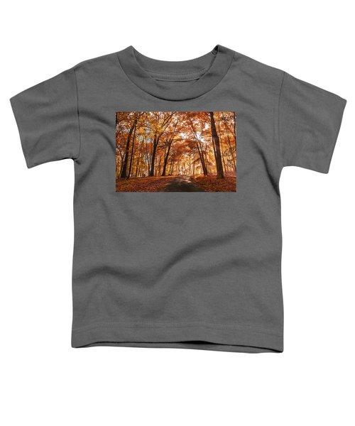 Enchanting Fall Toddler T-Shirt