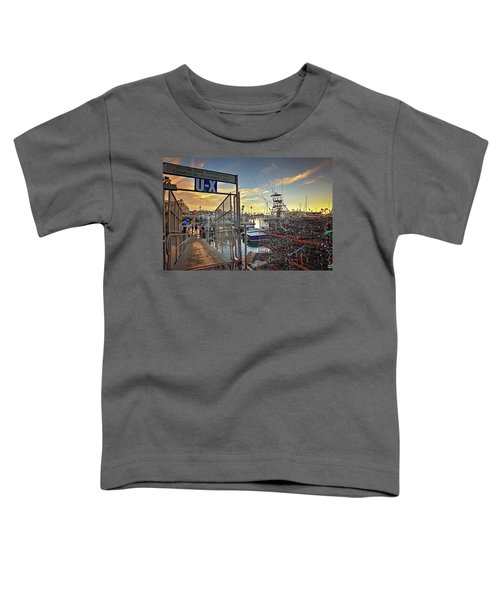 End Of Fishing Day Toddler T-Shirt