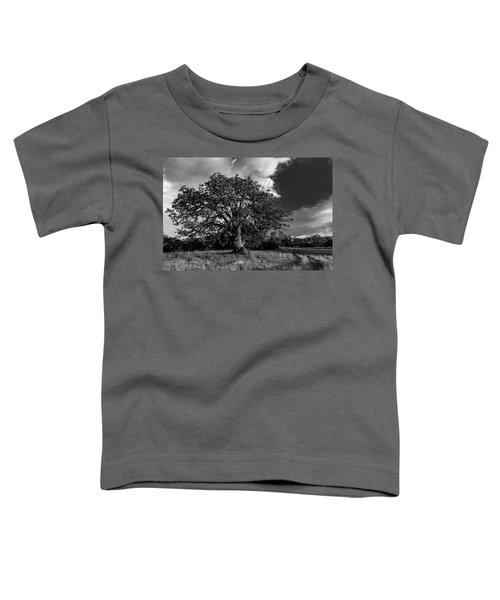 Engellman Oak Palomar Black And White Toddler T-Shirt