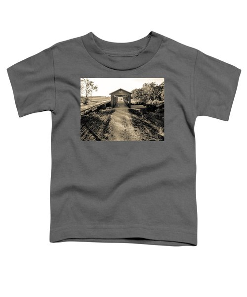 Engle Mill Covered Bridge Toddler T-Shirt