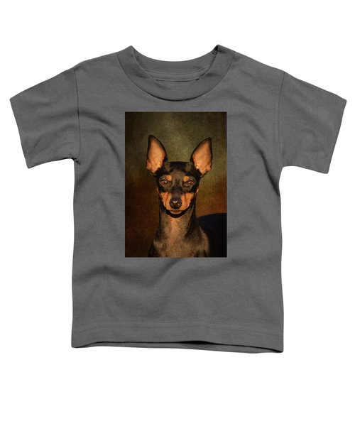English Toy Terrier Toddler T-Shirt