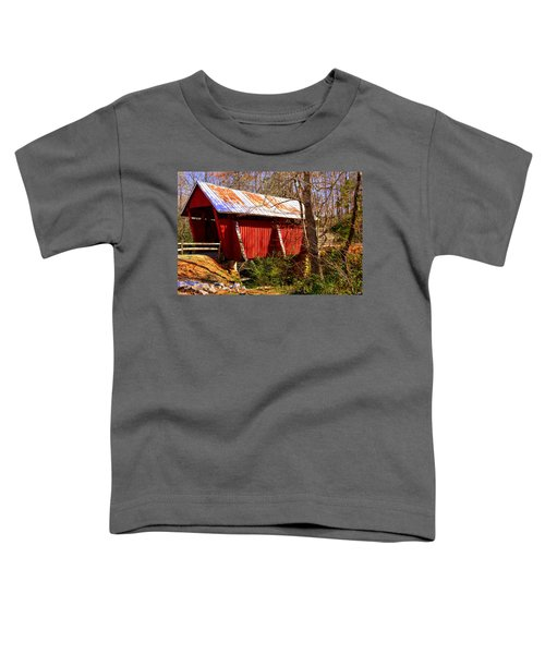 Est. 1909 Campbell's Covered Bridge Toddler T-Shirt