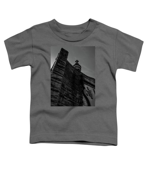 Eternal Stone Structure Bw Toddler T-Shirt