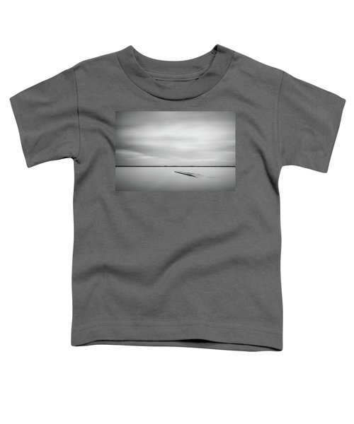 Ethereal Long Exposure Of A Pier In The Lake Toddler T-Shirt
