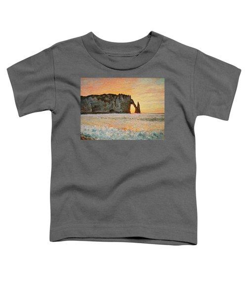 Etretat, Sunset  Toddler T-Shirt