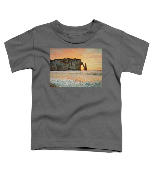 Etretat, Sunset  Toddler T-Shirt
