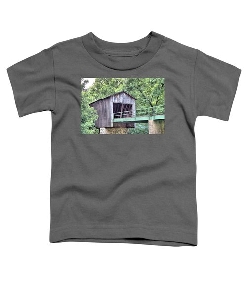Euharlee Creek Covered Bridge Toddler T-Shirt