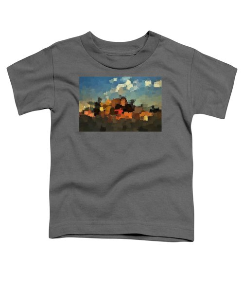 Evening At The Farm Toddler T-Shirt