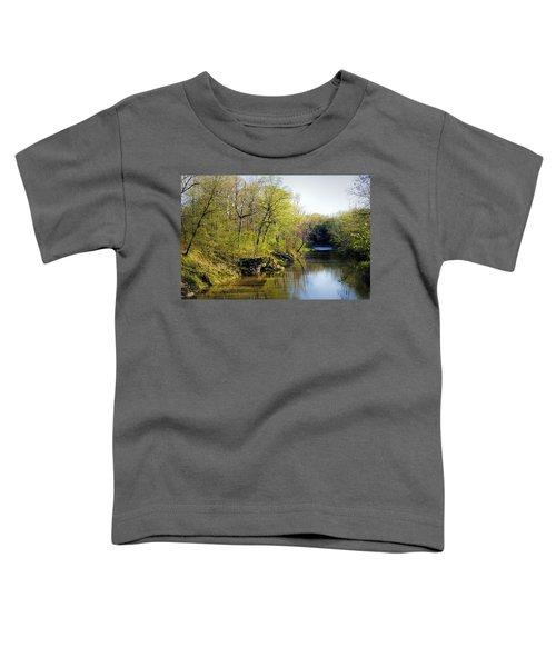 Evening Falls On Cedar Creek Toddler T-Shirt