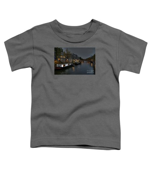 Evening In Amsterdam Toddler T-Shirt