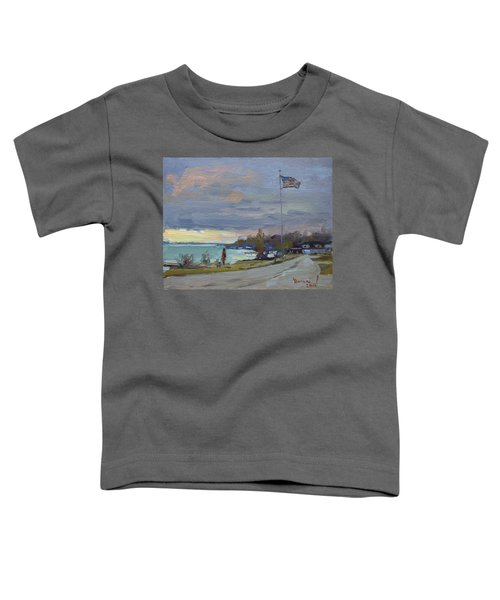 Evening In Gratwick Waterfront Park Toddler T-Shirt