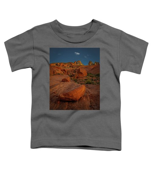 Evening In The Valley Of Fire Toddler T-Shirt