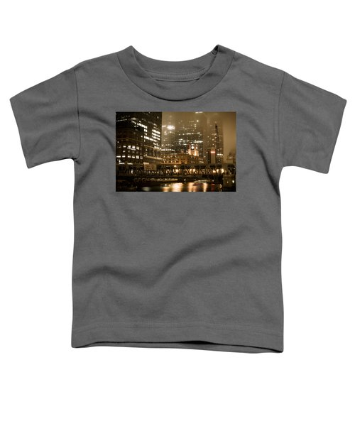 Evening In The Windy City Toddler T-Shirt
