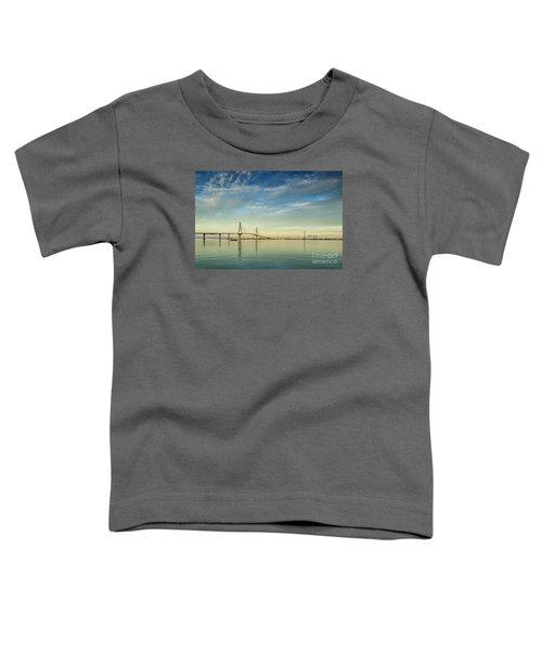 Evening Lights On The Bay Cadiz Spain Toddler T-Shirt