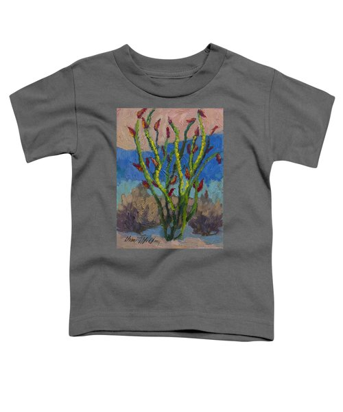 Evening Ocotillo Toddler T-Shirt