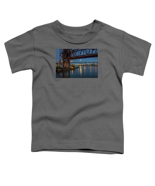 Evening On The Cuyahoga River Toddler T-Shirt