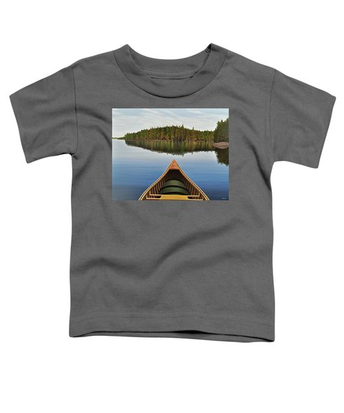 Evening Paddle  Toddler T-Shirt