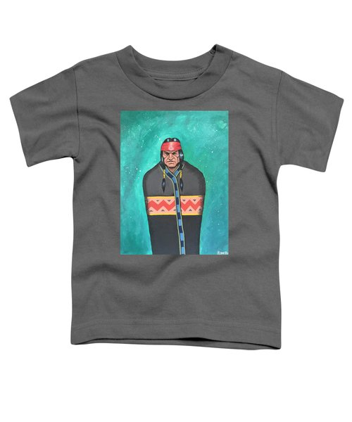 Toddler T-Shirt featuring the painting Evening Prayer by Antonio Romero