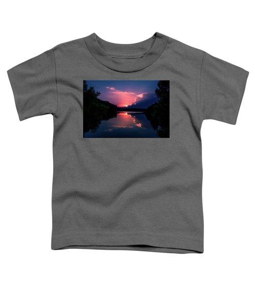 Evening Reflection Toddler T-Shirt
