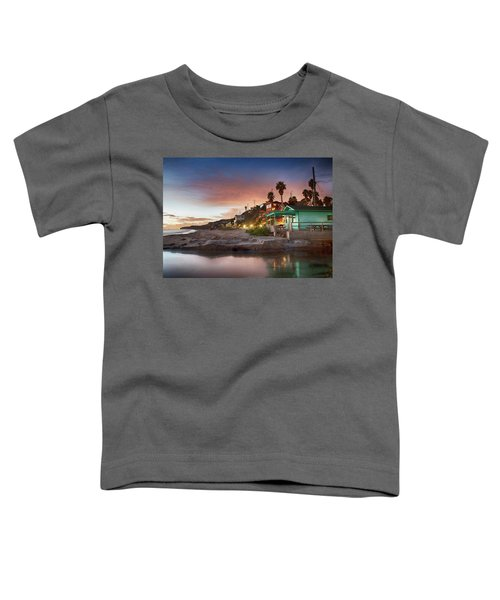 Evening Reflections, Crystal Cove Toddler T-Shirt