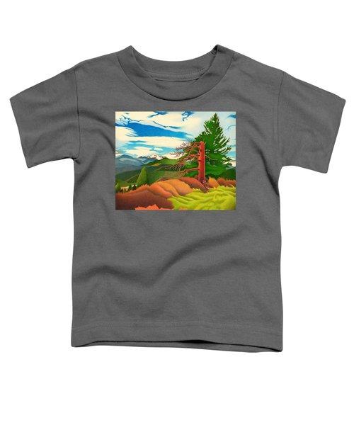 Evergreen Overlook Toddler T-Shirt