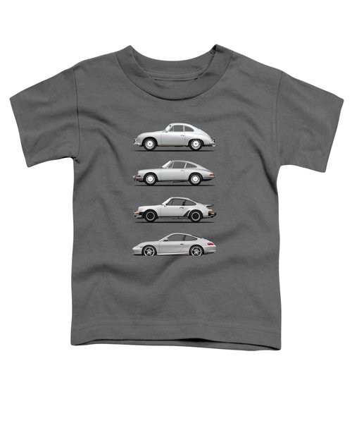 Evolution Of The 911 Toddler T-Shirt