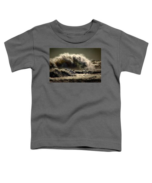 Explosion In The Ocean Toddler T-Shirt