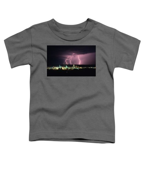 Exxon Lightning Toddler T-Shirt