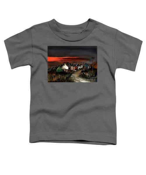 Cork Beara Eyeries Sunset Beara Toddler T-Shirt