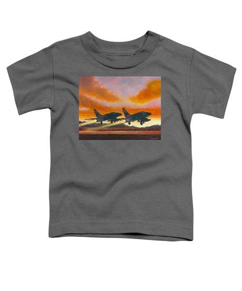 F-100d's Missouri Ang At Dusk Toddler T-Shirt