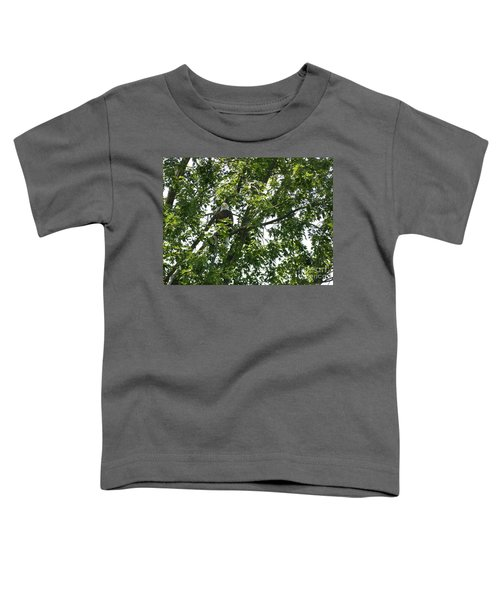 Face The Eagle Toddler T-Shirt