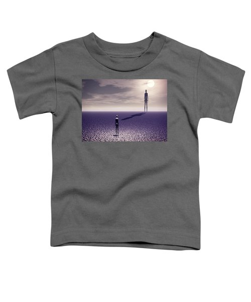 Facing The Future Toddler T-Shirt