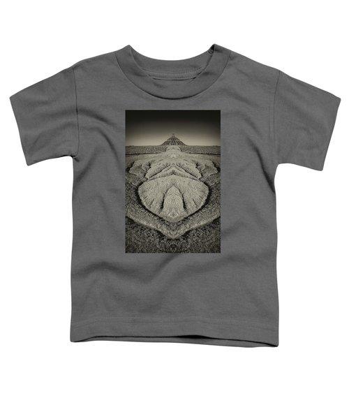 Factory Butte Digital Art Toddler T-Shirt