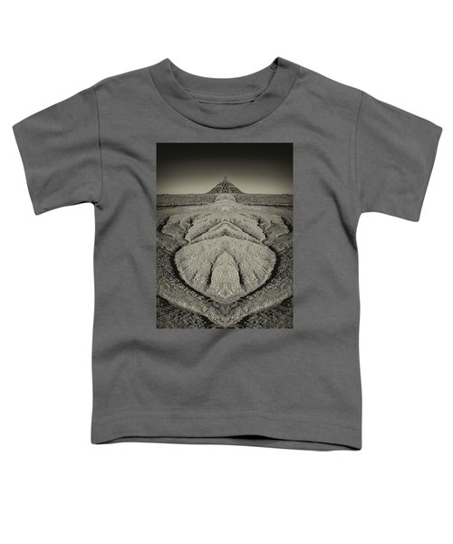 Factory Butte Digital Art Toddler T-Shirt