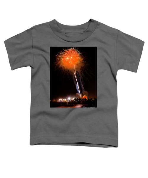 Fireworks As Seen From The Ventura California Pier Toddler T-Shirt