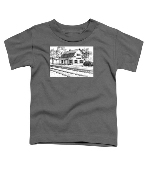 Fairview Ave Train Station Toddler T-Shirt
