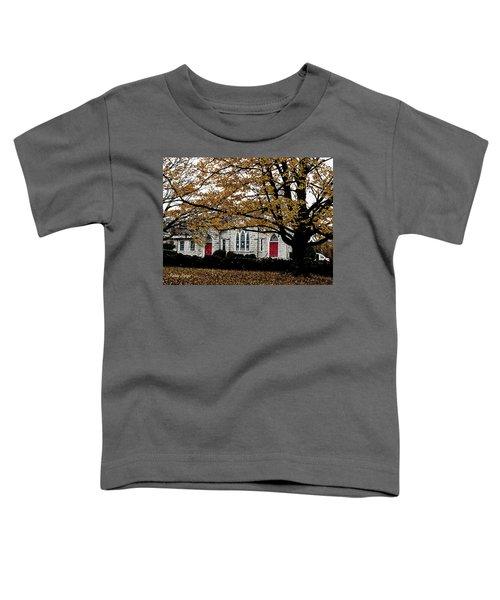 Fall At Church Toddler T-Shirt