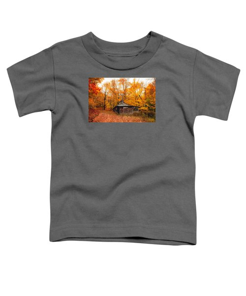 Fall At The Sugar House Toddler T-Shirt
