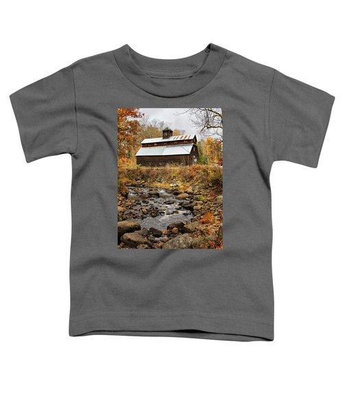 Fall Barn  Toddler T-Shirt