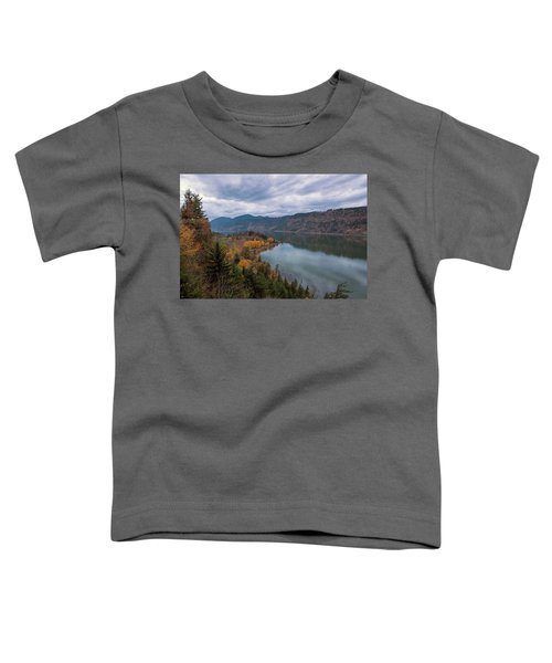 Fall Color At Ruthton Point In Hood River Oregon Toddler T-Shirt