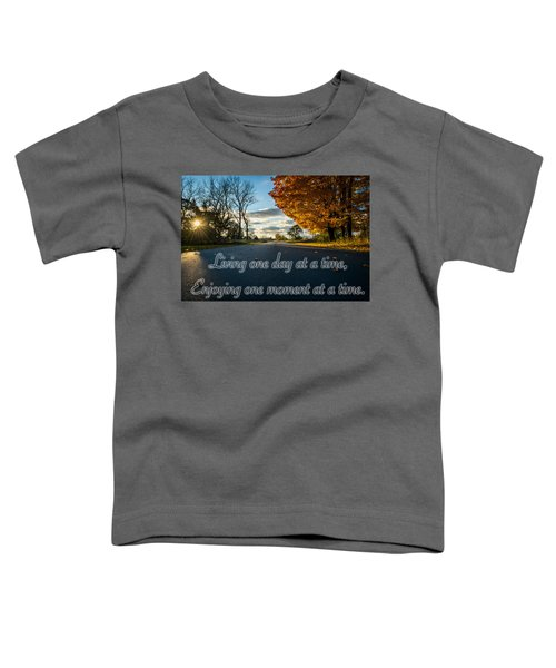 Fall Day With Saying Toddler T-Shirt