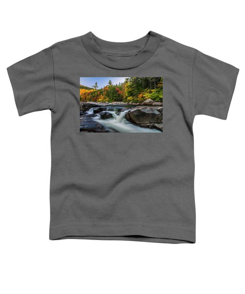 Fall Foliage Along Swift River In White Mountains New Hampshire  Toddler T-Shirt