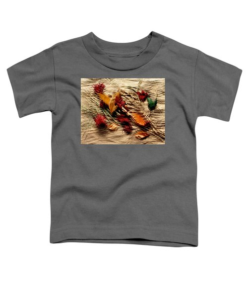Fall Foliage Still Life Toddler T-Shirt