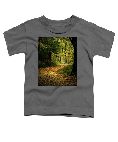 Fall Is Just Around The Corner Toddler T-Shirt