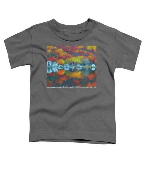 Fall Lake Toddler T-Shirt
