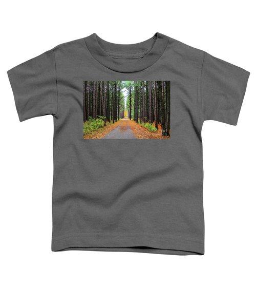 Fall Pines Road Toddler T-Shirt